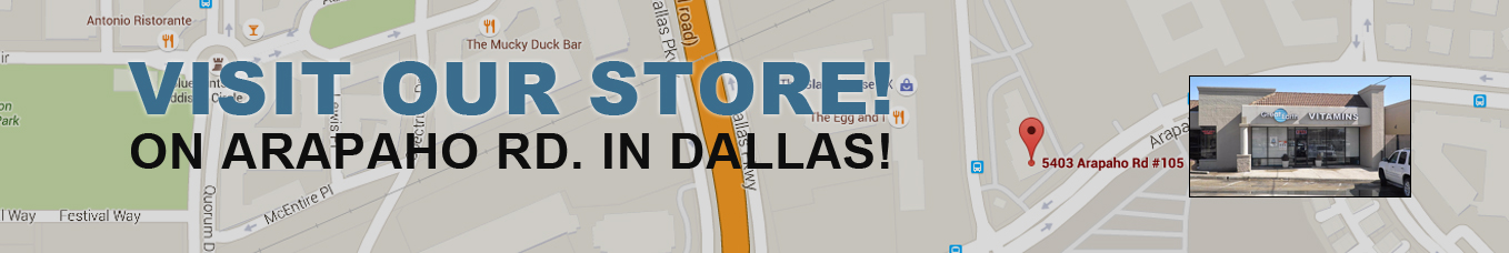 Visit our store in Dallas